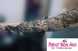 Henna Tattoo Jagua Tattoo Winston Salem Nc Perfact Brow Art By